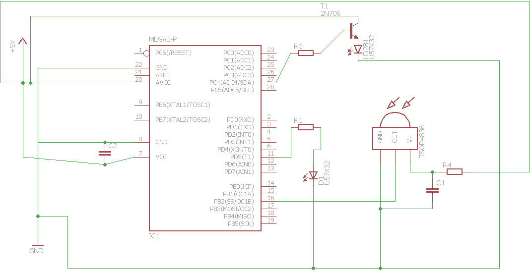 czujnik ir - tsop 4836 problem z dzia u0142aniem